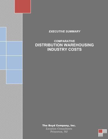 INDUSTRY OPERATING COSTS COSTS
