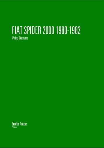 1982 fiat spider wiring diagrams fiat spider carburetor