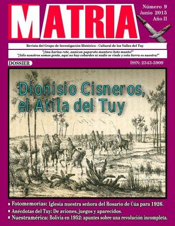 Dionisio Cisneros el Atila del Tuy