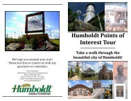 without stops - City of Humboldt
