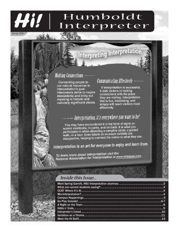 Uii Humboldt Interpreter - Humboldt State University