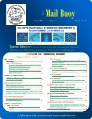 Special Edition: Structured around the 6th International Fisheries