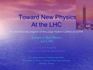 At the LHC
