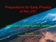 Preparations for Early Physics at the LHC