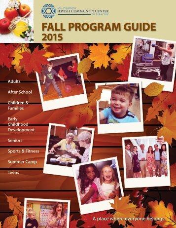 2015 Fall Program Guide