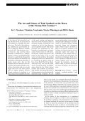 The Art and Science of Total Synthesis - Page 2