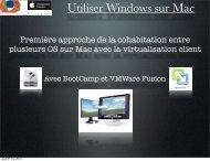 Utiliser Windows sur Mac
