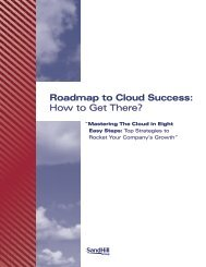 Roadmap to Cloud Success How to Get There?