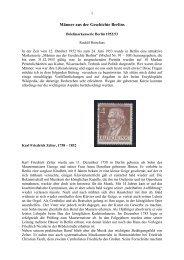 Männer aus der Geschichte Berlins - Briefmarkensammler-Verein ...