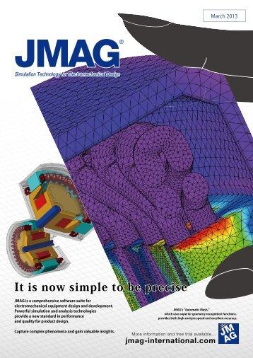 JMAG Products Catalog - November 2012