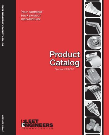 Fleet Engineers Catalog - CCC Parts Company