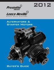 Alternators & Starter Motors Buyer's Guide - CCC Parts Company