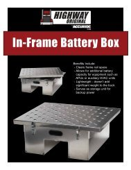 In-Frame Battery Box