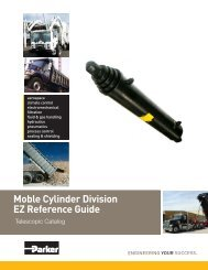 Moble Cylinder Division EZ Reference Guide