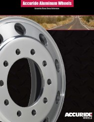 Accuride Aluminum Wheels