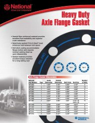 Heavy Duty Axle Flange Gasket