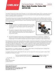 New Auto Combo Valve Kit ACVA10X