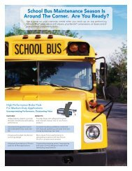 School Bus Maintenance Season Is Around The Corner Are You Ready?