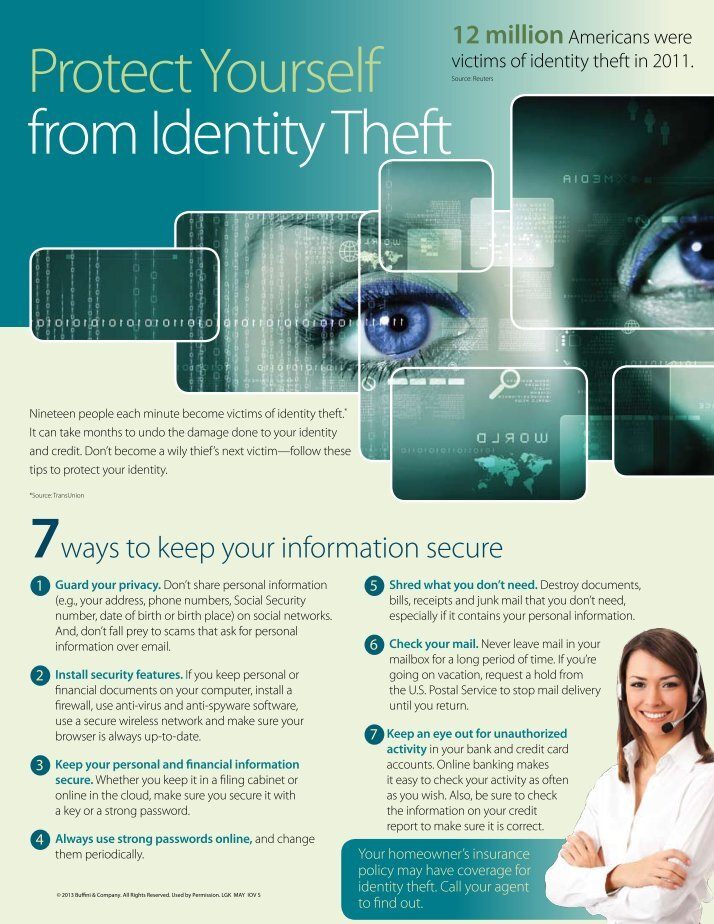 credit protection identity theft Having a credit card does put you at slightly greater risk of identity theft but credit cards also come with protections against these problems as well as advantages over paying by cash, check or debit card.