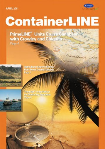 Download ContainerLINE April 2011 issue - Carrier Transicold ...