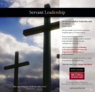 Servant Leadership