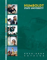 2008-09 Academic Year (8MB) - Bad Request - Humboldt State ...