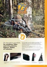 De réputation mondiale, les carabines Tikka sont très ... - Humbert