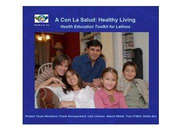 A Con La Salud Healthy Living