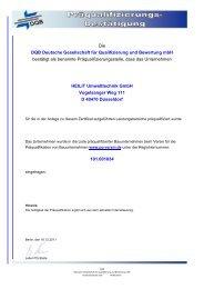 Die DQB Deutsche Gesellschaft für Qualifizierung und ... - Strabag AG