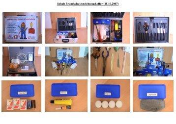 Bilder Brandschutzerziehungskoffer Querformat