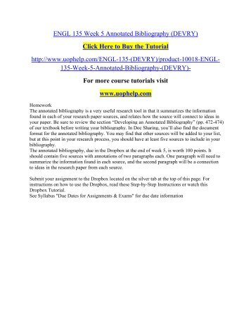 BSHS     Week   Assignment Annotated Bibliography    Sets    uophelp Action Auto Parts