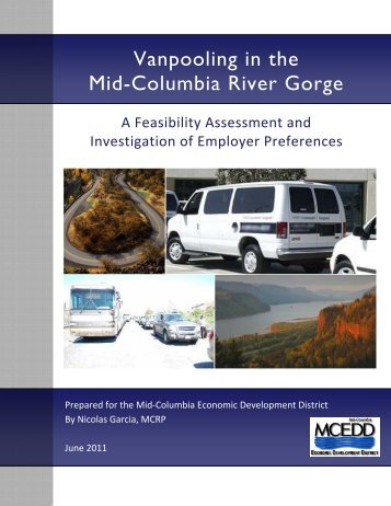 Vanpooling in the Mid-Columbia River Gorge: A ... - Gorge TransLink