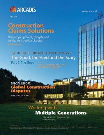 Construction Claims Solutions - Arcadis