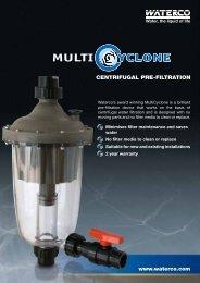 centrifugal pre-filtration www.waterco.com