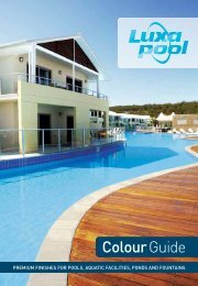 Download the LuxaPool Brochure here - Direct Pool Supplies