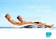 Create a resort at home