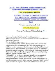 AJS 572 Week 1 Individual Assignment Overview of Information Systems and Technology Paper.pdf