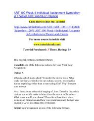 ART 100 Week 4 Individual Assignment Symbolism in Theater and Cinema (2 Papers).pdf