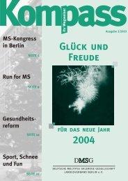3/ 2003 - Deutschen Multiple Sklerose Gesellschaft