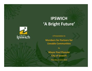 IPSWICH 'A Bright Future'