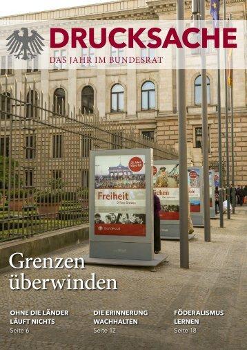 DRUCKSACHE – Der Bundesrat 2014/2015