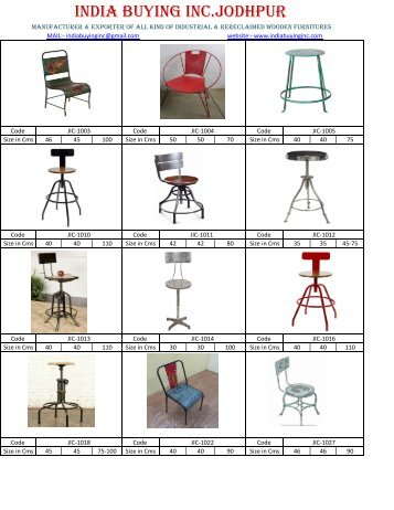 vintage industrial style furniture from India buying Inc Jodhpur dinesh gehlot