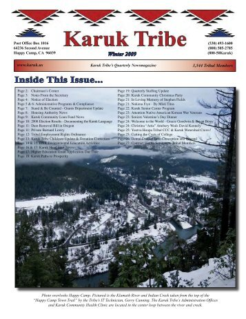 Inside This Issue... - Karuk Tribe Of California