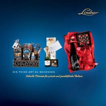 Präsente Katalog - Lindner