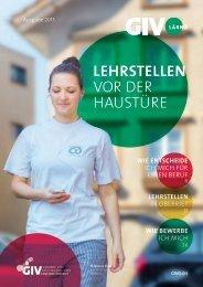 GIVOlärna – Lehrstellen vor der Haustüre 2015/2016