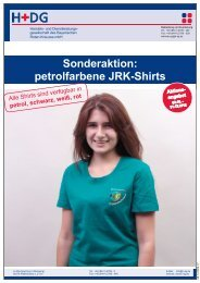 petrolfarbene JRK-Shirts - H+DG