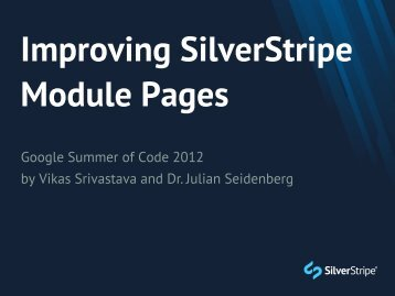 Module Pages