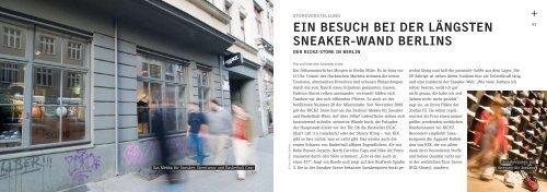 Ein BEsuch BEi dEr längstEn snEakEr-Wand BErlins