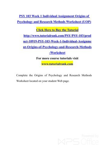 testing a theory psy 211 Psy/211 sample exam questions the motivation and emotion worksheet 1 introduction to psychological testing paper write a 700- to 1,050.