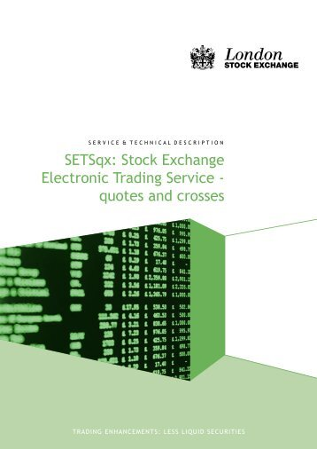 SETSqx: Stock Exchange Electronic Trading Service - quotes and ...